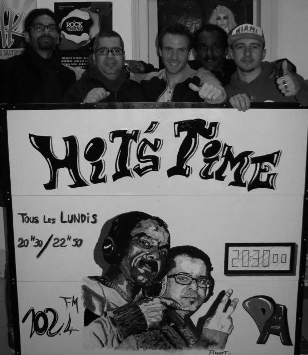 Whita et la team Hit's Time