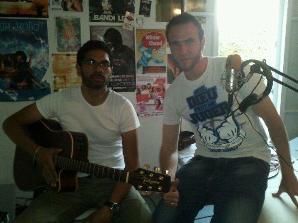 Whita & Paco sur Radio FM Mizik