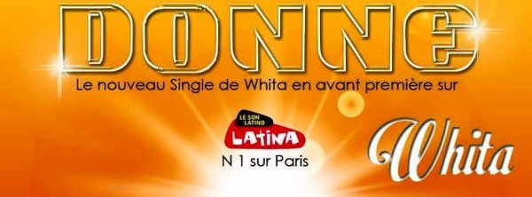 "New single "" Donne "" Whita on Radio Latina 99 FM"