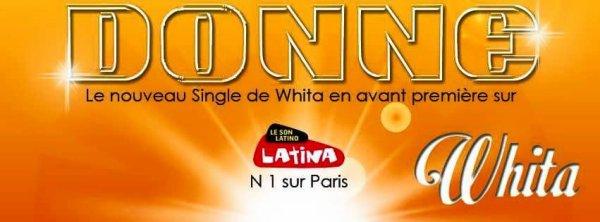 "New single "" Donne "" Whita on Radio Latina 99 FM"
