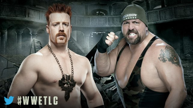 World Heavyweight Champion Big Show vs Sheamus - Match présidents