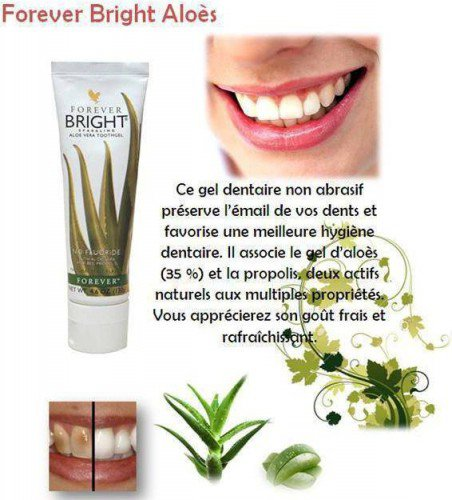 dentifrice aloe