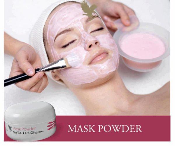 masque poudre visage