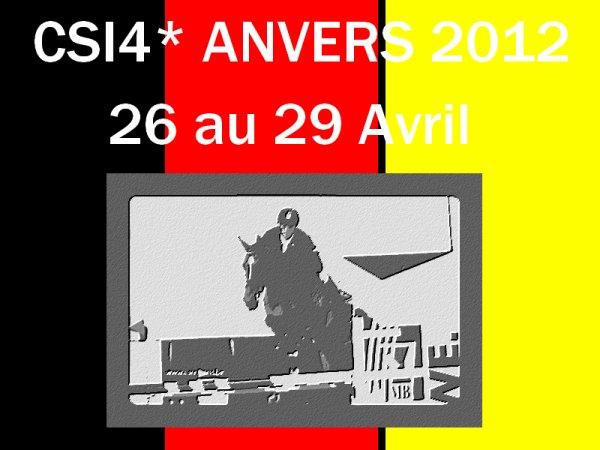CSI4* d'Anvers (BEL) - 26 au 29 Avril 2012