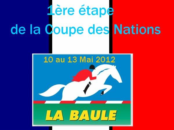 CSIO5* La Baule (FRA) - 10 au 13 Mai 2012