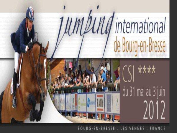 CSI4* Bourg-en-Bresse (FRA) - 31 Mai au 03 Juin 2012