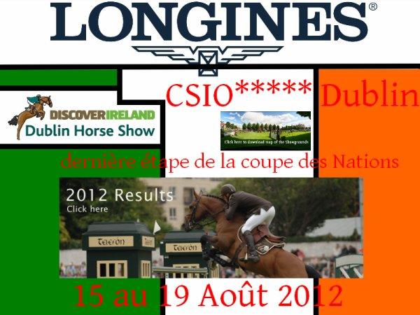 CSIO5* Dublin (IRL) - 15 au 19 Août 2012