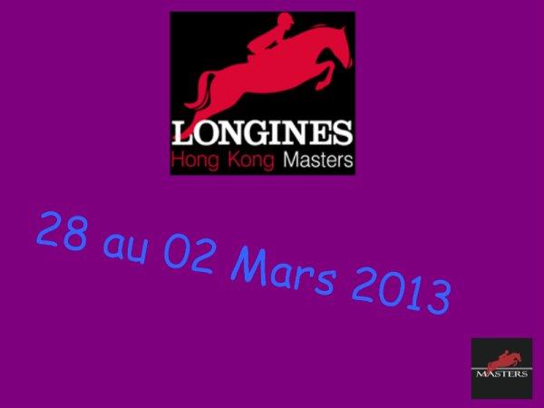 CSI5* Hong Kong Masters (Chine) - 28 Février au 02 Mars 2013