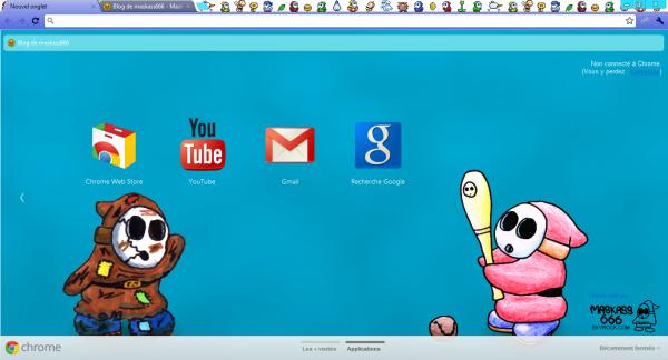 Thème pour Google Chrome