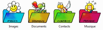 Icônes Mario