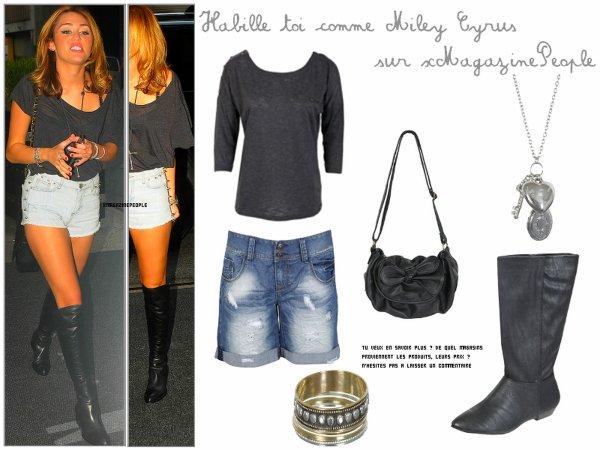 ✯ Rubrique Mode________________________________________________________________________  ~ Habille toi comme Miley Cyrus