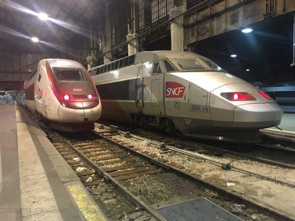 TGV à AUSTERLITZ