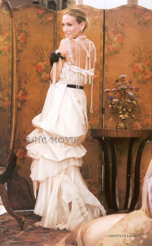 christian lacroix wedding dresses sex and the city in Wigan