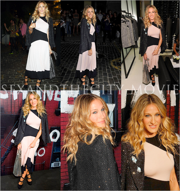 APPARITION PUBLIQUE: o9/o9/2o1o - NEW YORK CITY [ « CHANEL RE-OPENING PARTY » ]
