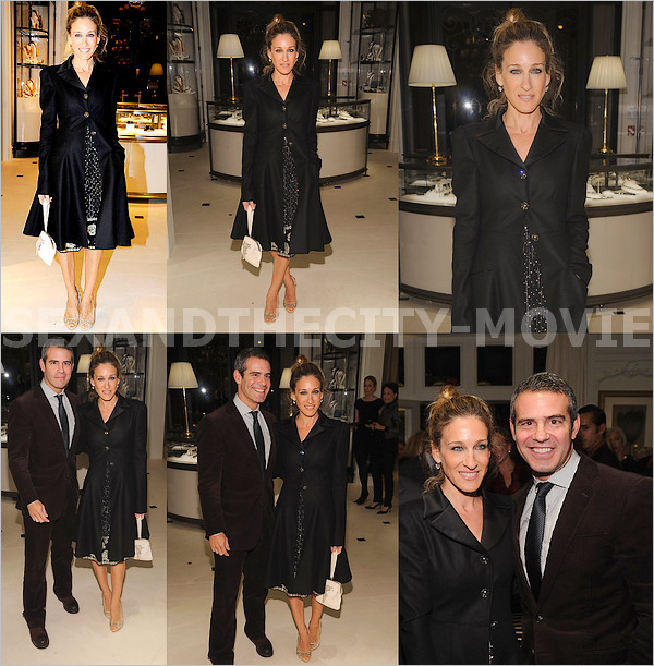 APPARITION PUBLIQUE: o4/11/2o1o - NEW YORK CITY [ « THE WORLD OF GLORIA VANDERBILT » LAUNCH PARTY ]