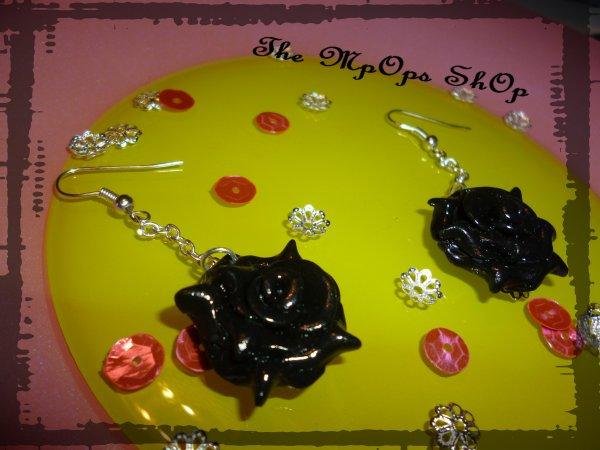 BO roses noires
