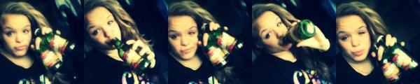 M0IIi ((*-*)) <3  Alcool : un verre ça va...