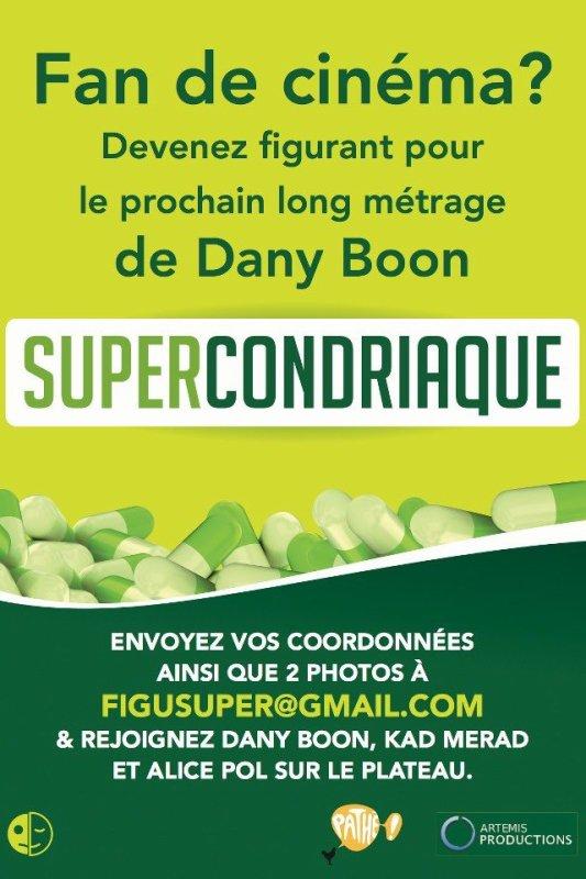 Casting pour le film SuperCondriaque