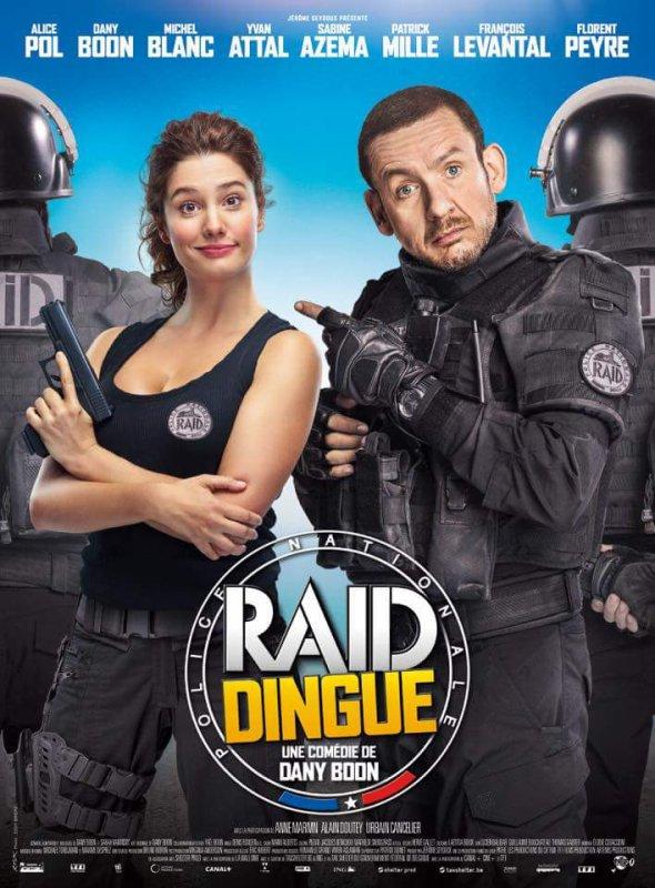 """Affiche """"Raid Dingue"""" sortie 1er Février"""