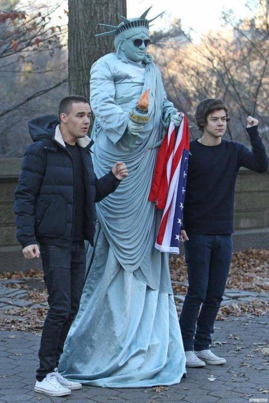 Liam et Harry à New York (05.12)