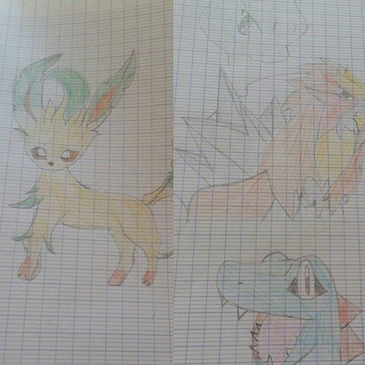 Quelques dessins de moi :)