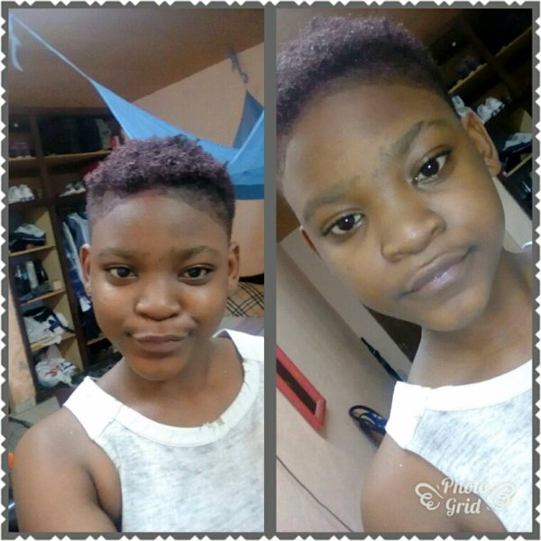 In my new hairs style