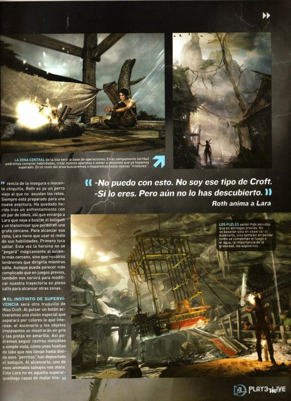 Images Magasine Tomb Raider 9 ....