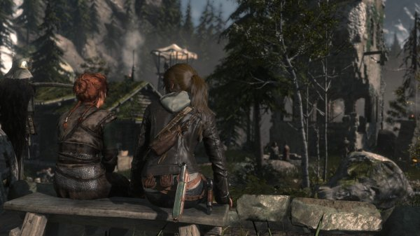 Rise of Tomb Raider est de sortit!