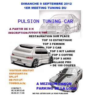1er meeting tuning des pulsions tuning car 14