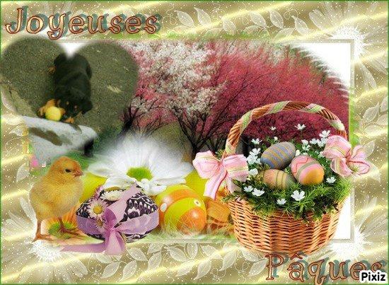 Joyeuses Pâques, mon ange
