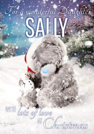 Sally, tu es le Noël de mon coeur