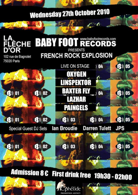 FRENCH ROCK EXPLOSION