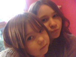 Moi et ma soeur ! Qe j'aiime