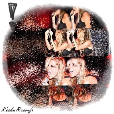 Kesha fait ( encore ) son show !