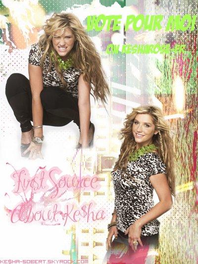 Montage de : kesha111 et Kesha-sobert