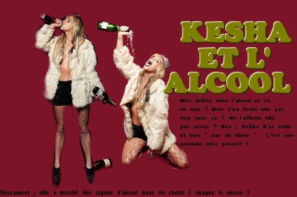 Kesha devient très provocante