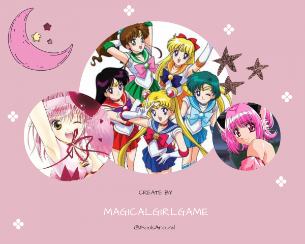 "Nineteen step : '' Moon Prism Power, Make up ! ""  - Sailor Moon"
