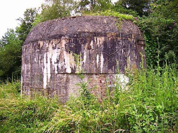 Arrière du bunker de l'entrée dit du couvent