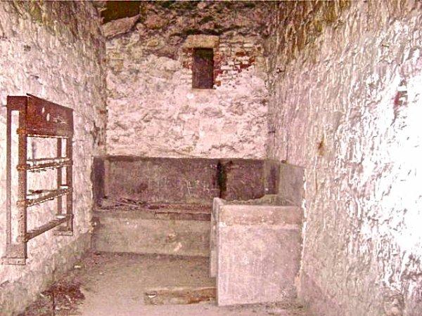Intérieur deuxième bunker