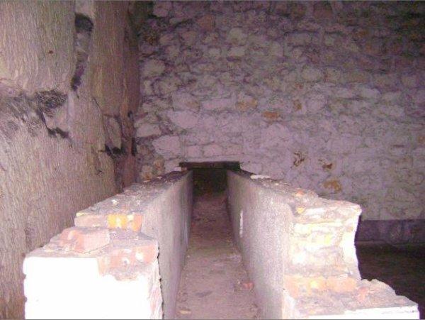même pièce bunker construction vue de prêt