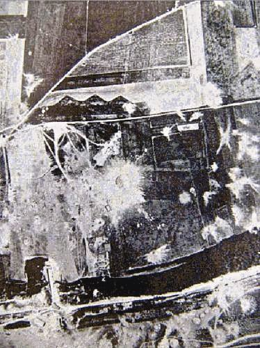 Autres photo du bombardement allié de 1944 Complexe V1 de St Leu d'Esserent