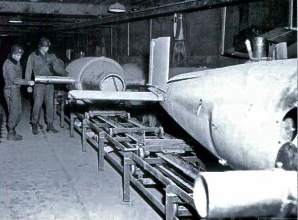 Trois autres carrières souterraines converti en base de : bombe volante V1 , Fusée V2 et OTAN