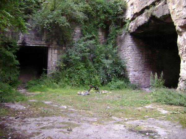 Les deux entrée dit du couvent