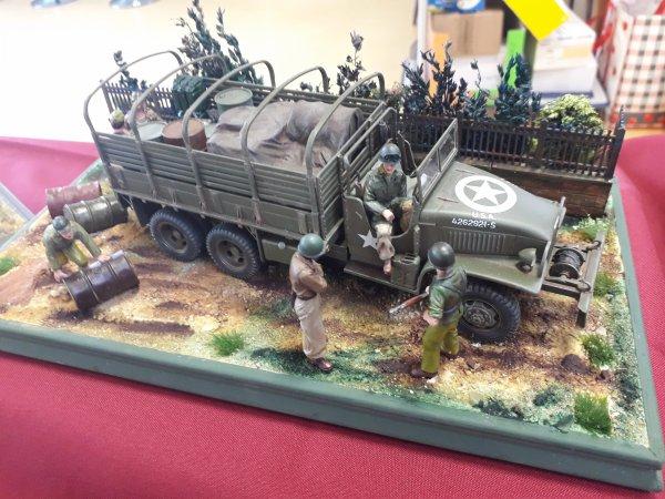 Diorama militaire