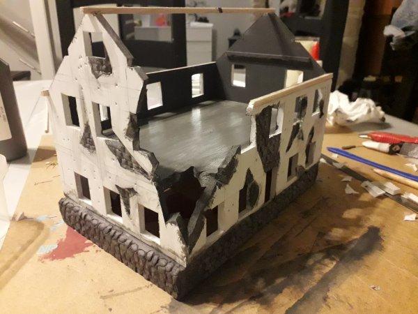 Nouveau dio maison en ruine