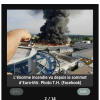 Europa park en feu