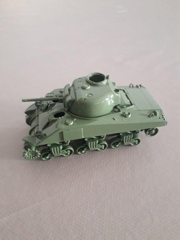Maquette SHERMAN M4