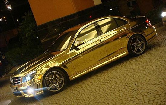 mercedes gold