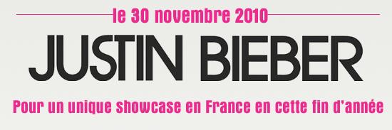 ♥  Justin de retour fin novembre 2010 ?