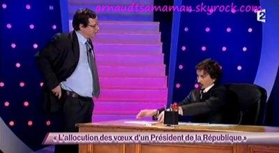 L'allocution des voeux d'un Président de la République (48ème passage d'Arnaud Tsamere)